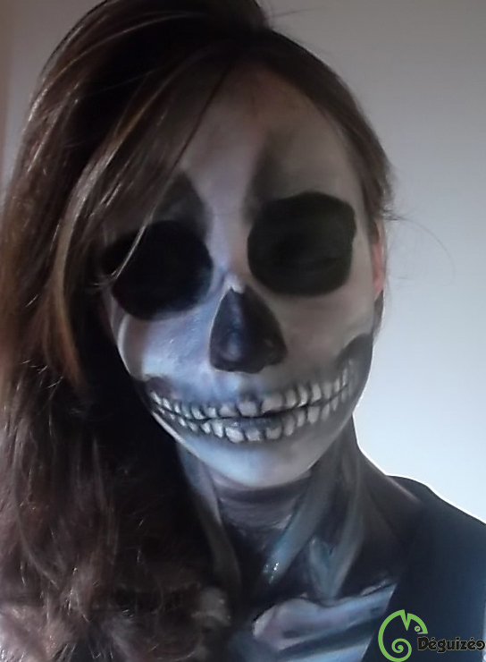 Maquillage Skull By Deguizeo