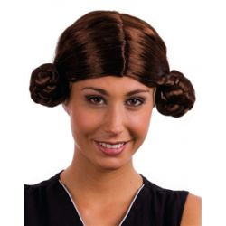 Perruque double chignons de la princesse Leïa - Star Wars