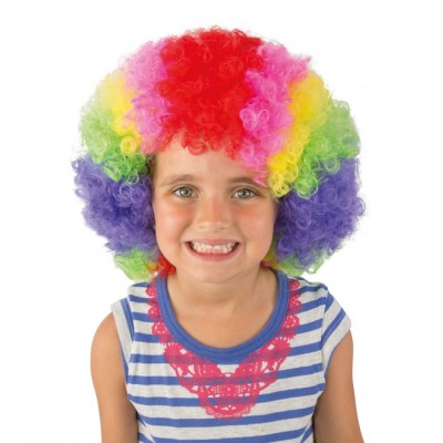 PERRUQUE ENFANT POP CLOWN-MULTICOLORE