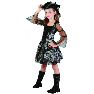 costume enfant pirate fille S