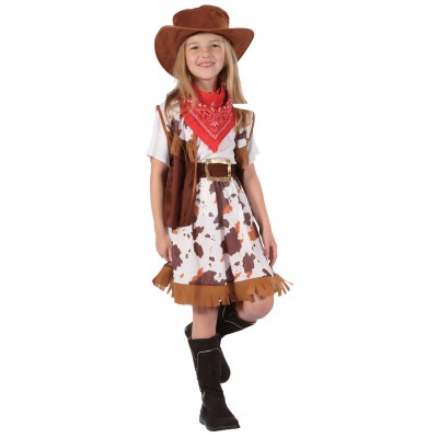 costume enfant cow girl