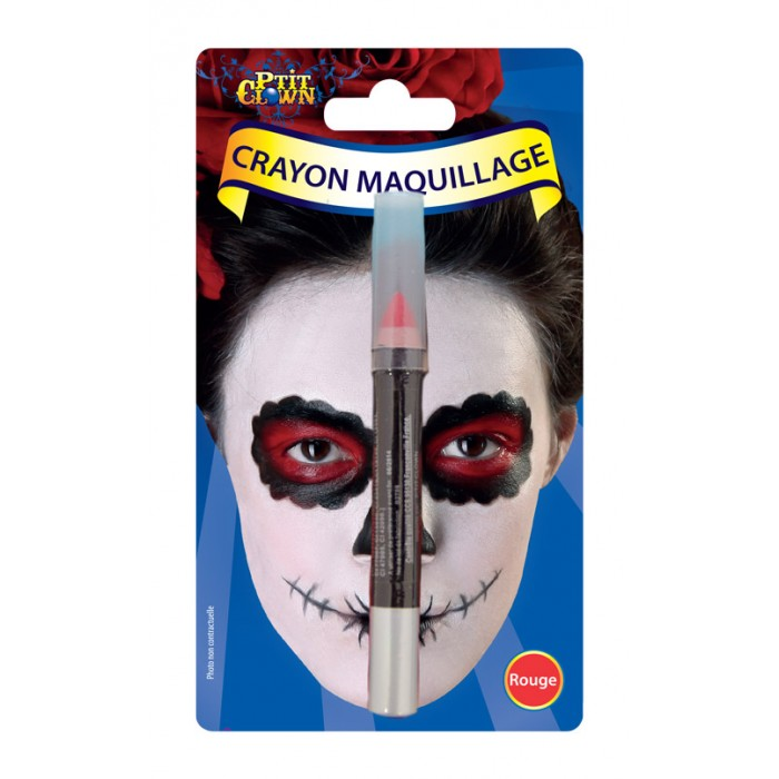 Crayon maquillage rouge