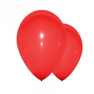 Sachet de 10 ballons rouges