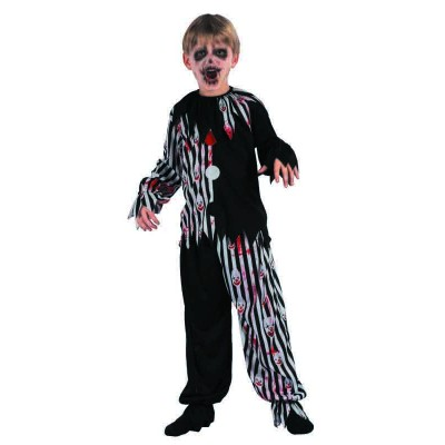 Costume enfant clown sanglant - S