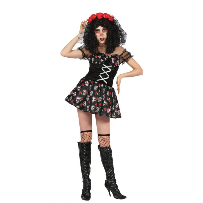 costume adulte day of the dead