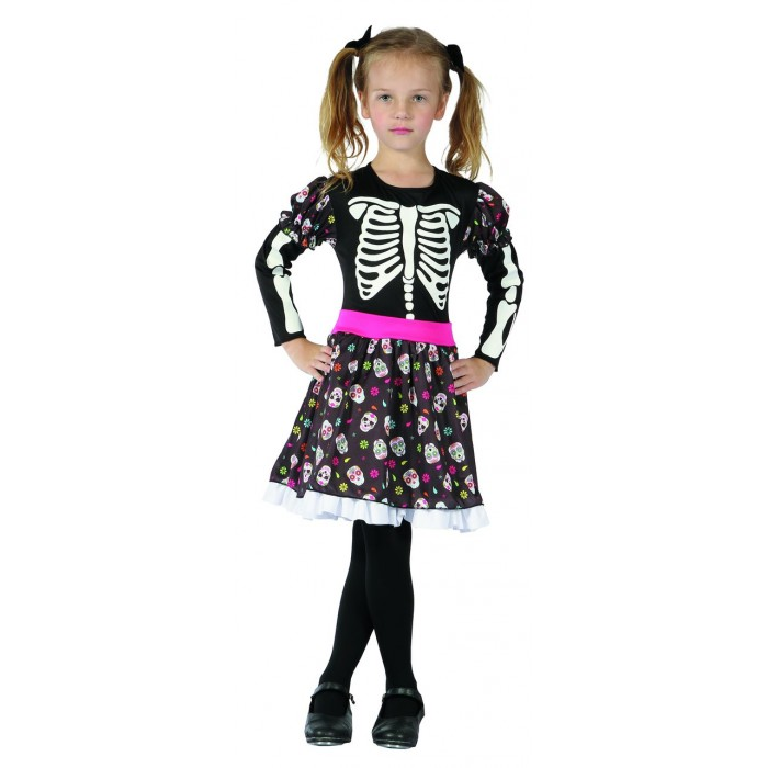 costume fille day of the dead
