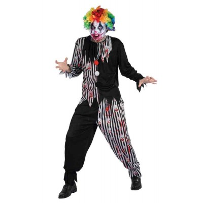 costume clown sanglant