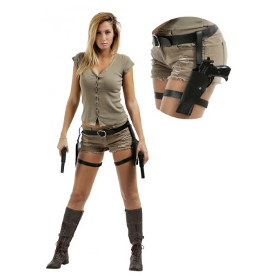 Holster révolvers double de cuisses Tomb Raider