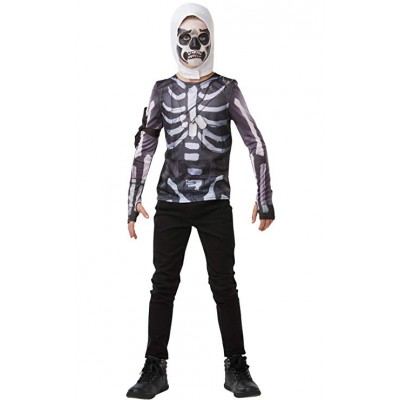 cagoule + top skull trooper fortnite enfant