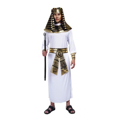 Costume adulte pharaon blanc