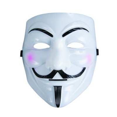 Masque PVC Anonymous / V pour Vendetta