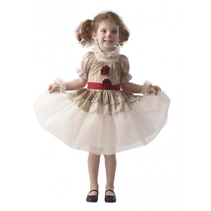 Costume baby clown tueur fille