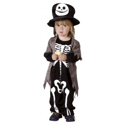 Costume baby gentil squelette